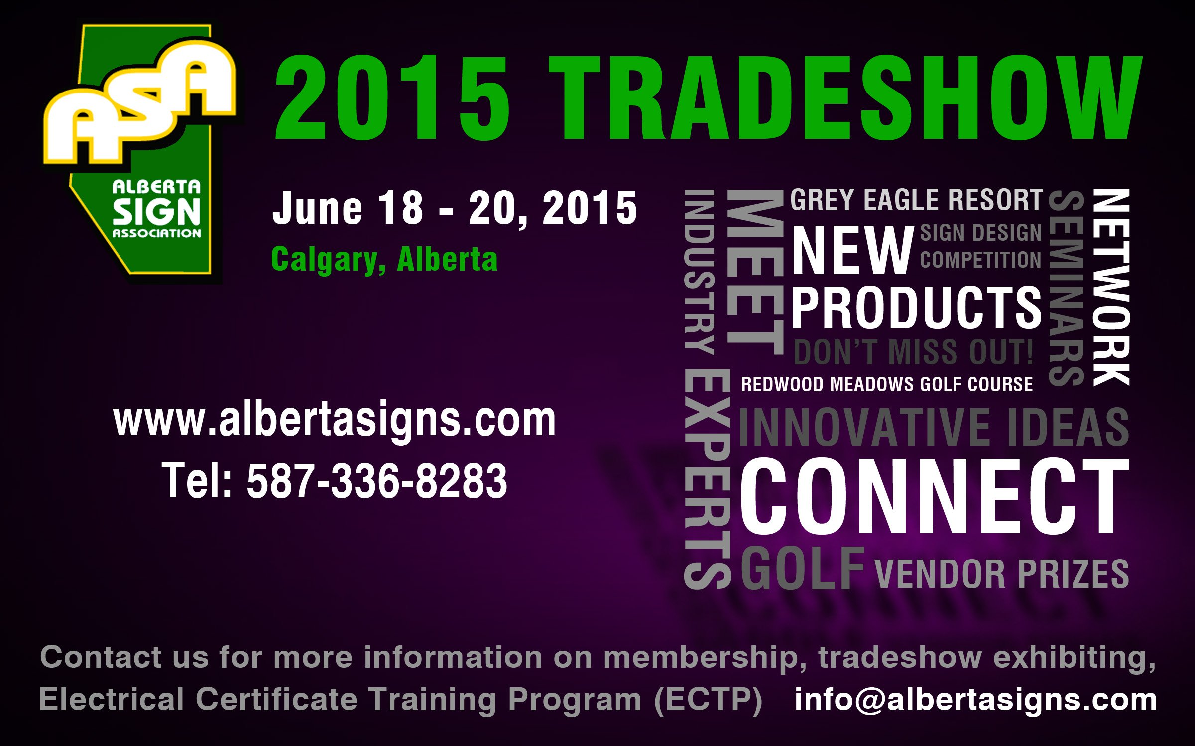 2015 ASA Trade show registration is open!