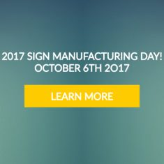 Manufacturing Sign day